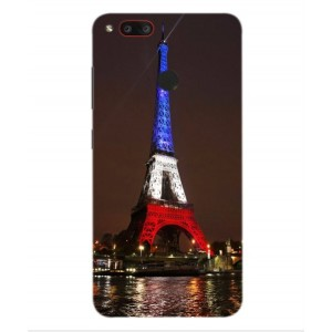 Coque De Protection Tour Eiffel Couleurs France Pour Archos Diamond Gamma