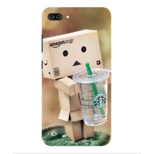 Coque De Protection Amazon Starbucks Pour Asus Zenfone 4 Max Pro ZC554KL