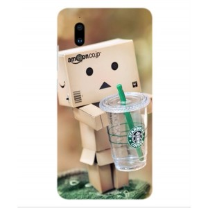 Coque De Protection Amazon Starbucks Pour Sharp Aquos S2