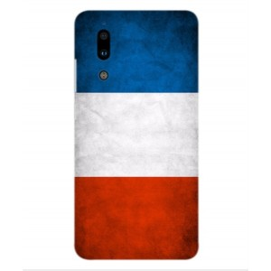 Coque De Protection Drapeau De La France Pour Sharp Aquos S2