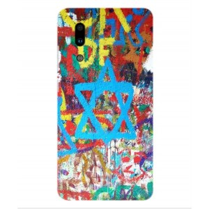 Coque De Protection Graffiti Tel-Aviv Pour Sharp Aquos S2