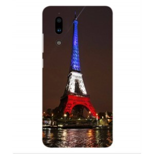 Coque De Protection Tour Eiffel Couleurs France Pour Sharp Aquos S2