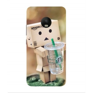 Coque De Protection Amazon Starbucks Pour Motorola Moto G5