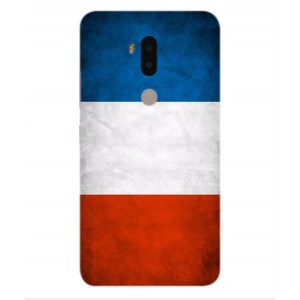 Coque De Protection Drapeau De La France Pour Alcatel A7 XL