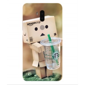 Coque De Protection Amazon Starbucks Pour Alcatel A7 XL