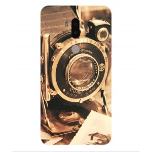 Coque De Protection Appareil Photo Vintage Pour Alcatel A7 XL
