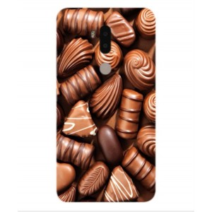 Coque De Protection Chocolat Pour Alcatel A7 XL