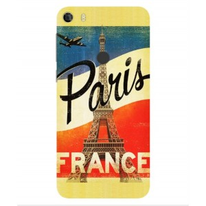 Coque De Protection Paris Vintage Pour Alcatel Idol 5