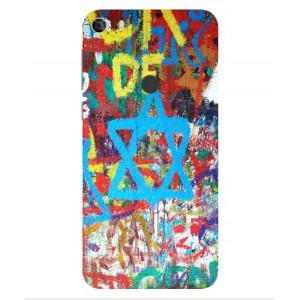 Coque De Protection Graffiti Tel-Aviv Pour Alcatel Idol 5