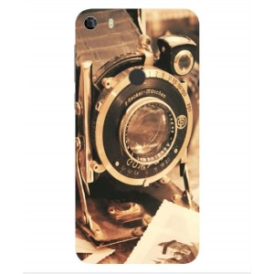Coque De Protection Appareil Photo Vintage Pour Alcatel Idol 5