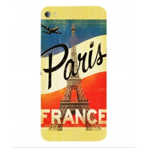 Coque De Protection Paris Vintage Pour Alcatel Idol 5s