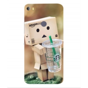 Coque De Protection Amazon Starbucks Pour Alcatel Idol 5s