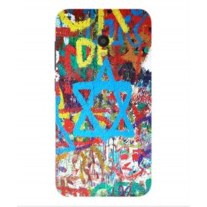 Coque De Protection Graffiti Tel-Aviv Pour Alcatel U5 HD