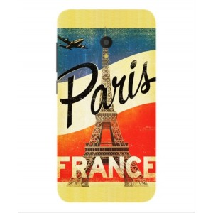 Coque De Protection Paris Vintage Pour Alcatel U5 HD