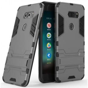 Protection Solide Type Otterbox Noir Pour LG V30