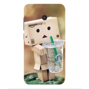 Coque De Protection Amazon Starbucks Pour Alcatel U5 HD