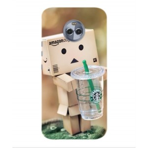 Coque De Protection Amazon Starbucks Pour Motorola Moto X4