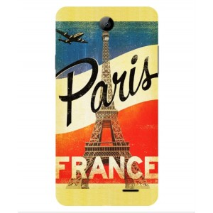 Coque De Protection Paris Vintage Pour Archos 55b Platinum