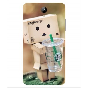 Coque De Protection Amazon Starbucks Pour Archos 55b Platinum