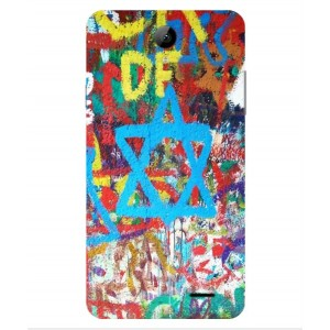 Coque De Protection Graffiti Tel-Aviv Pour Archos 55b Platinum