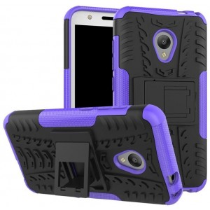 Protection Antichoc Type Otterbox Violet Pour Alcatel U5
