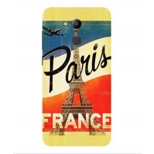 Coque De Protection Paris Vintage Pour Huawei Honor V9 Play