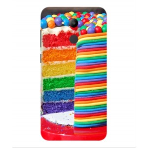 Coque De Protection Gâteau Multicolore Pour Huawei Honor V9 Play