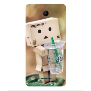 Coque De Protection Amazon Starbucks Pour Wiko Tommy 2 Plus