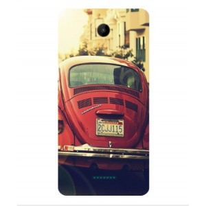 Coque De Protection Voiture Beetle Vintage Wiko Tommy 2 Plus