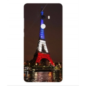 Coque De Protection Tour Eiffel Couleurs France Pour Xiaomi Mi Mix 2