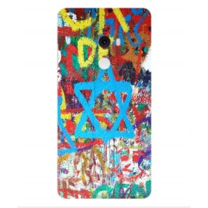 Coque De Protection Graffiti Tel-Aviv Pour Xiaomi Mi Mix 2