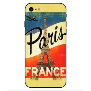 Coque De Protection Paris Vintage Pour iPhone 8