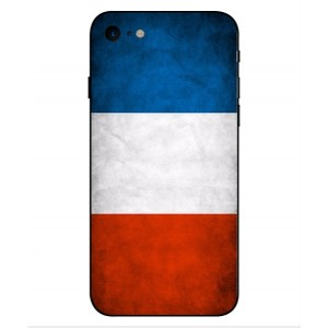 Coque De Protection Drapeau De La France Pour iPhone 8