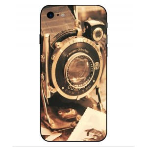 Coque De Protection Appareil Photo Vintage Pour iPhone 8