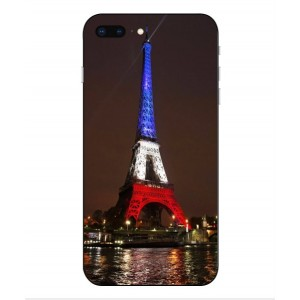 Coque De Protection Tour Eiffel Couleurs France Pour iPhone 8 Plus