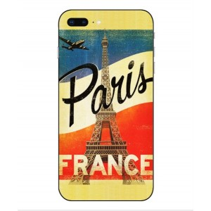 Coque De Protection Paris Vintage Pour iPhone 8 Plus