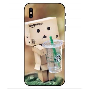 Coque De Protection Amazon Starbucks Pour iPhone X