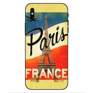 Coque De Protection Paris Vintage Pour iPhone X