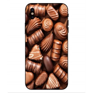 Coque De Protection Chocolat Pour iPhone X