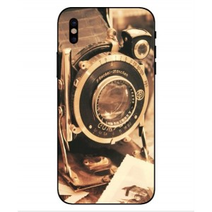 Coque De Protection Appareil Photo Vintage Pour iPhone X
