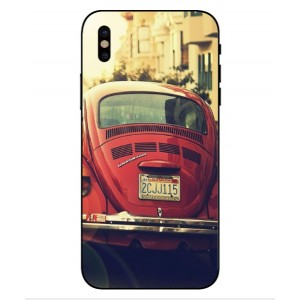 Coque De Protection Voiture Beetle Vintage iPhone X
