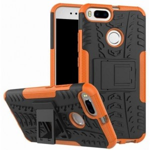 Protection Antichoc Type Otterbox Orange Pour Xiaomi Mi A1 (5X)