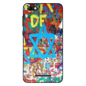Coque De Protection Graffiti Tel-Aviv Pour Wiko Jerry Max
