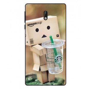 Coque De Protection Amazon Starbucks Pour Nokia 3