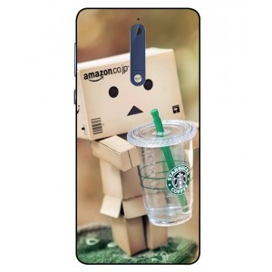 Coque De Protection Amazon Starbucks Pour Nokia 5