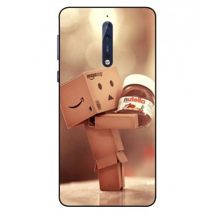 Coque De Protection Amazon Nutella Pour Nokia 8