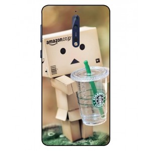 Coque De Protection Amazon Starbucks Pour Nokia 8
