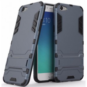 Protection Solide Type Otterbox Noir Pour Oppo A77