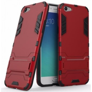 Protection Antichoc Type Otterbox Rouge Pour Oppo A77