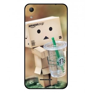 Coque De Protection Amazon Starbucks Pour Wiko Lenny 4